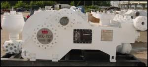 MK-PZ9 triplex mud pump
