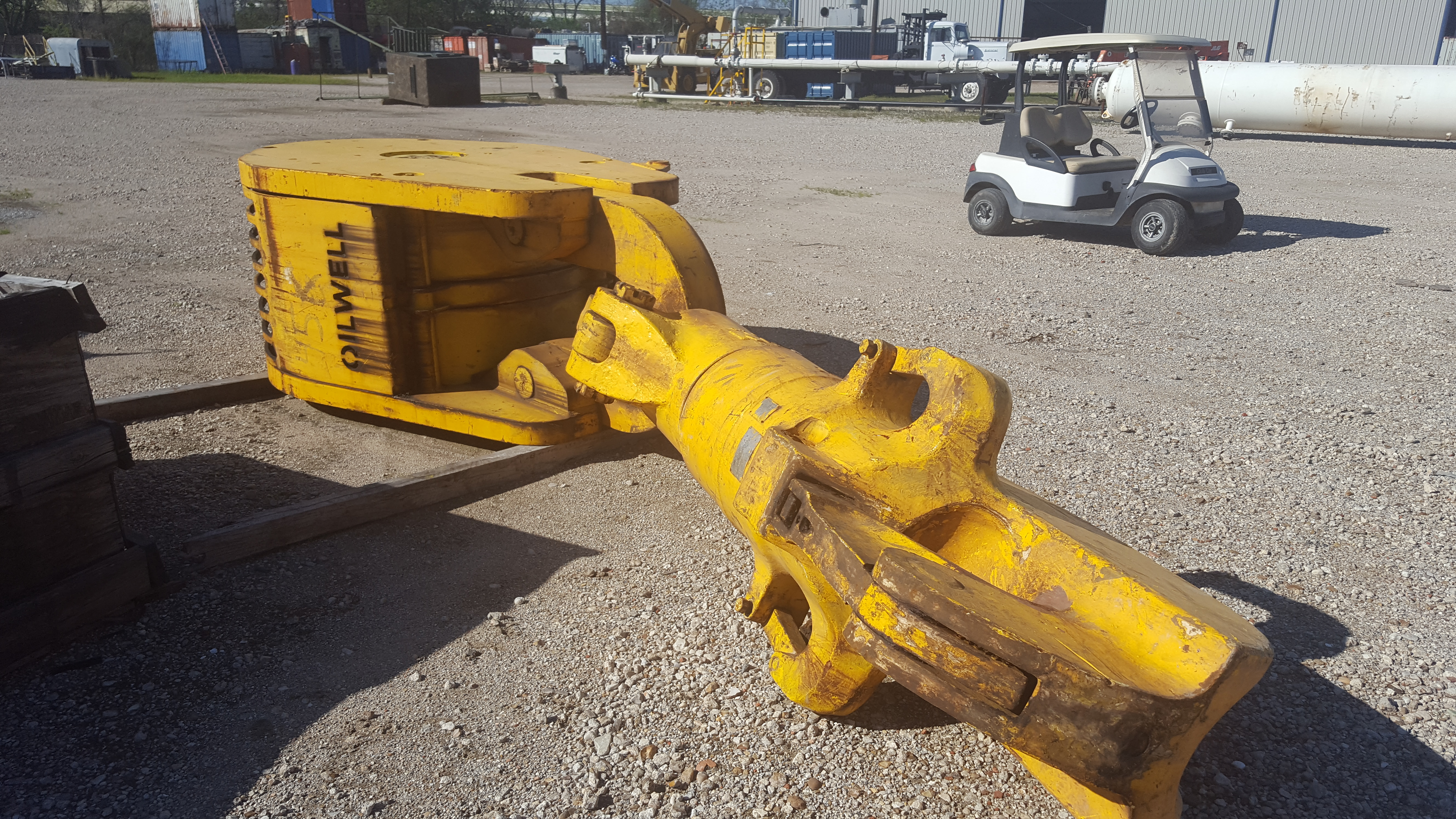 Swivels hooks and blocks 650 ton oilwell traveling block with 650 ton national hook sciox Images