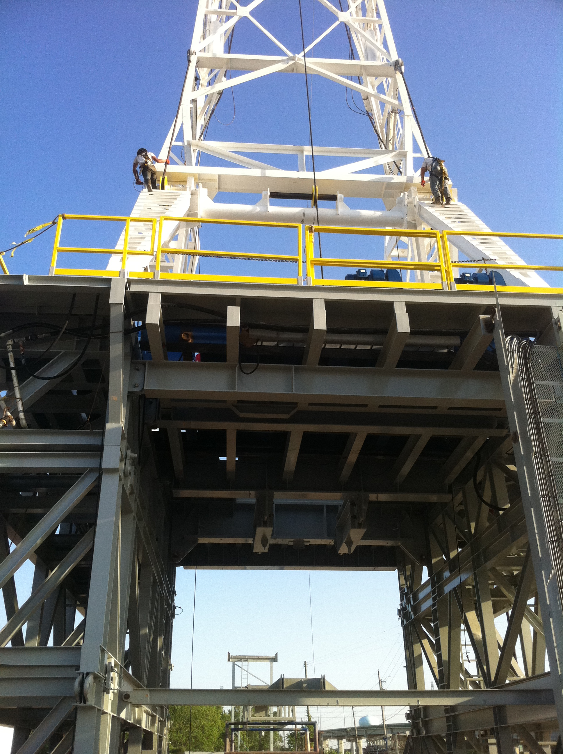 Rig Up - RCI Drilling Services