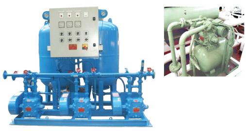 Megator Vacuum Pump - Marine Pressure Sets