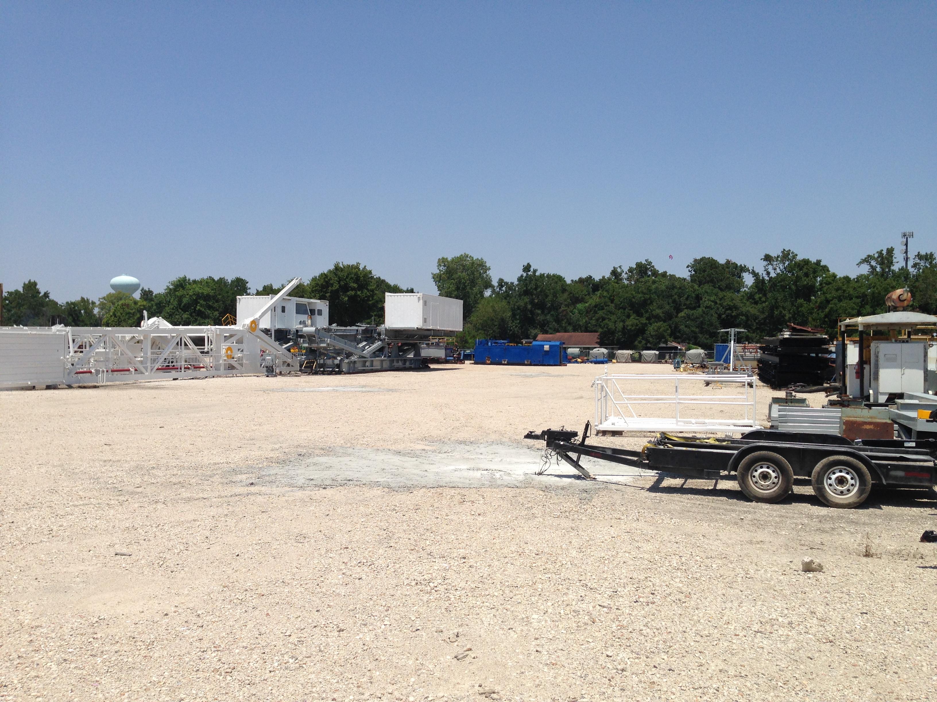 Rig Storage & Rental Space | Houston Texas